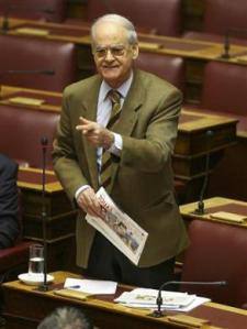 File picture of Greek lawmaker Kaklamanis