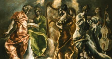 Δομήνικος Θεοτοκόπουλος - Η συναυλία των Αγγέλων (π. 1608-1614)