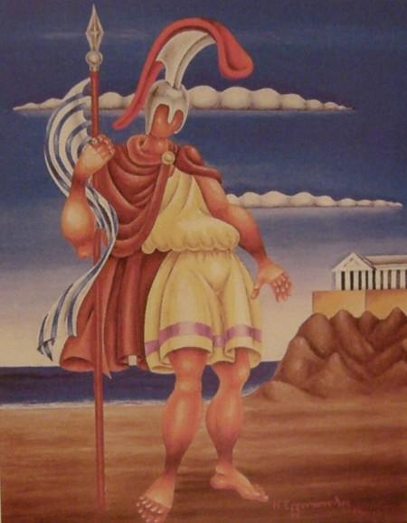 Νίκος Εγγονόπουλος — Ο ήρωας Κροκόδειλος Κλαδάς