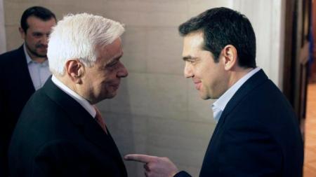 Alexis Tsipras, Prokopis Pavlopoulos