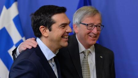 Greek PM Alexis Tsipras in Brussels